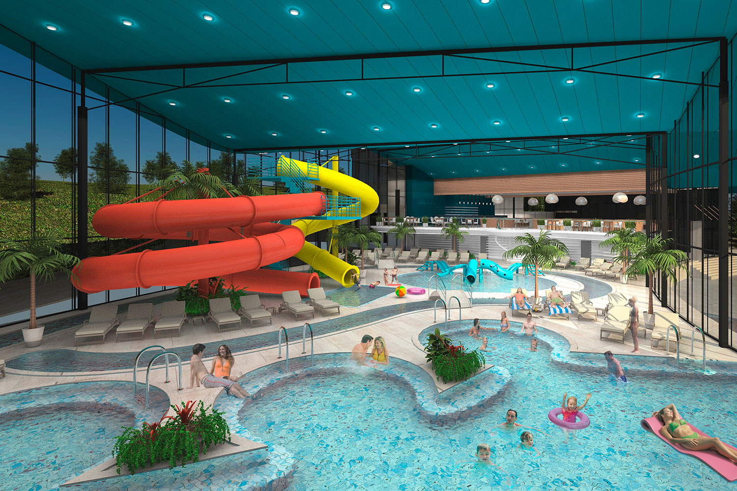 08. INTERIOR OF AQUAPARK